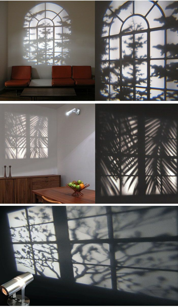 Decorative Projection Light  ::  Curated by   Gail Greenwald: Window