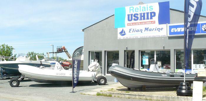 Création du site Internet de petites annonces de vente de bateaux pour la société ELIAN MARINE à Meschers