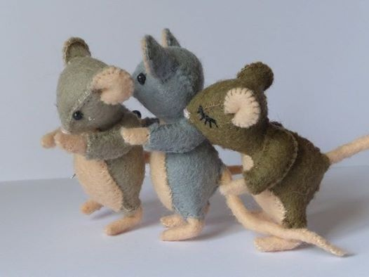 17 Best images about felt mice on Pinterest | Sewing ...