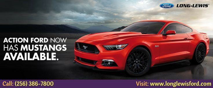 """Are you looking to buy New Ford Mustang 2015? Long Lewis offer the new ford mustang 2015 include 3.7L V6 300hp engine, 6-speed manual transmission with overdrive, 4-wheel anti-lock brakes (ABS) & """"17""""aluminum wheels. For more info, call (256) 386-7800 or visit: http://www.longlewisford.com/"""