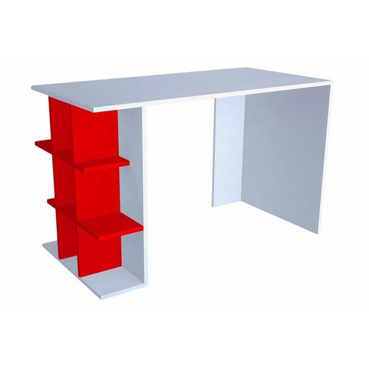 Office Minar Plus white-red 60x120x75