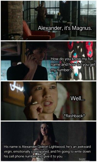 Izzy roots for Malec! ... perfect :-) ...  Pics taken from the tv show Shadowhunters ...   the mortal instruments, magnus bane, alexander 'alec' lightwood, isabelle lightwood, shadowhunters, emeraude toubia, matthew daddario, harry shum jr