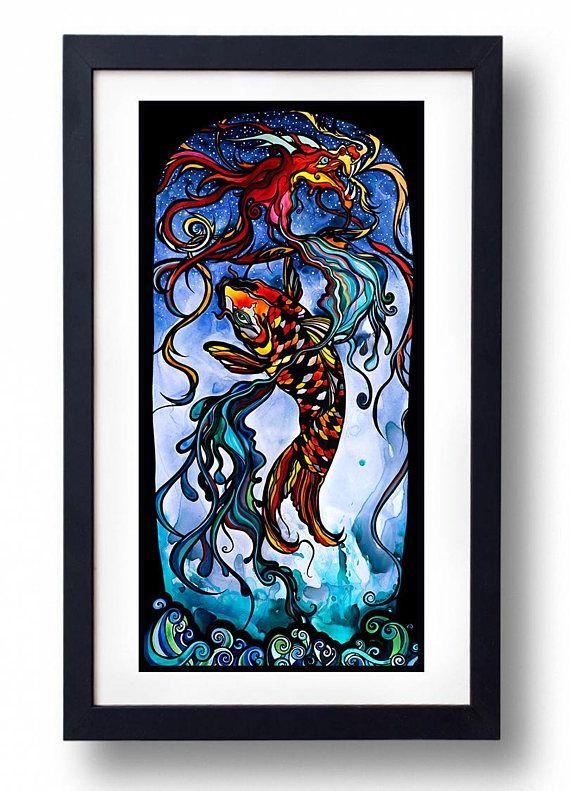 Best 25 koi painting ideas on pinterest koi koi art for Dragon koi fish for sale
