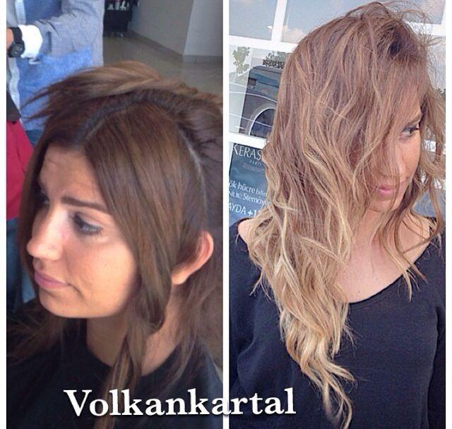 By volkan kartal - kumral-açık kumral-doğal saç rengi-sarışın brunette- blonde-natural color