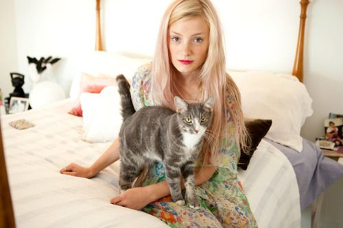 Pink wash.Kitty Cats, Pink Hair, Pale Pink, Kate Foley, Style At Home, High Schools, Ceremonies Kate, My Style, Cat Lady