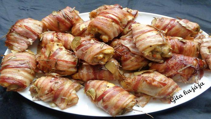 Pikantní luxusní kuřecí stehýnka se slaninou: Rychlá a chutná večeře!