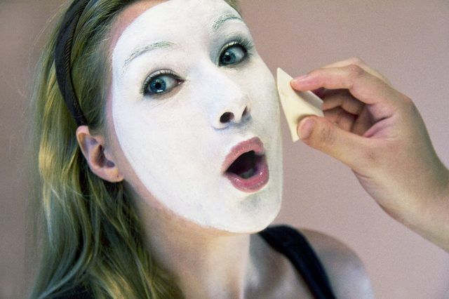 Mime makeup Conor wright