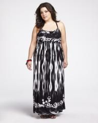 border print maxi dress | Shop Online at Addition Elle