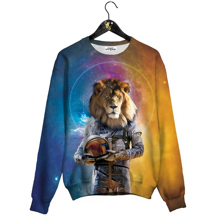 Space King Sweater Awesome Jumper by Golden Hyena  #goldenhyena