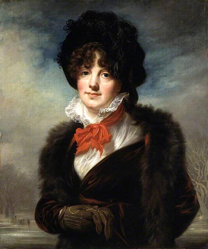 1799 The Athenaeum - Mary Fryer Todd, née Evans (Joseph Allen - )