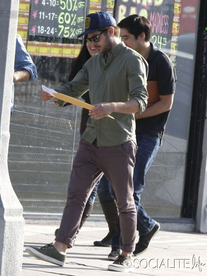 Zac leaving a business meeting ~ June 14, 2012 Zac Efron ~ LA - sample business meeting