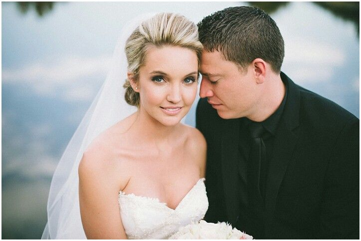 One of my beautiful Bride's Jacky Waldauer. Photo by www.brightgirlphotography.co.za Hair by Drew Christie of Evolve, Makeup by Charelle #Bride #BridalMakeup #Wedding #Beauty #Blonde #BlondeBride #Natural #Love #Unity