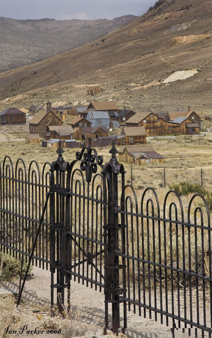 Bodie, California. Ghost town left behind after the Gold Rush.