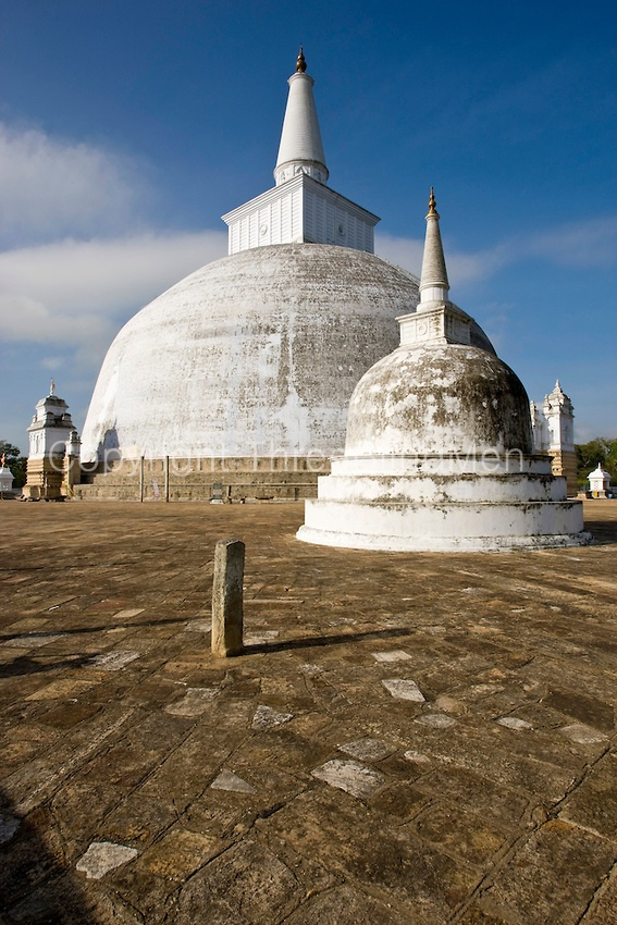 Anuradhapura is one of the ancient capitals of Sri Lanka, famous for its well-preserved ruins of ancient Lankan civilization.    The city, now a UNESCO World Heritage Site, lies 205 km north of the current capital Colombo in Sri Lanka's North Central Province, on the banks of the historic Malvathu Oya.