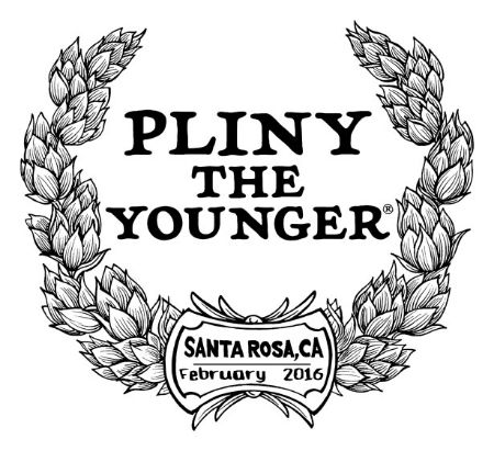 Our first taste of Pliny the Younger at Russian River Brewing FINALLY!