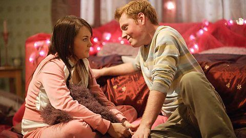 Stacey Slater and Bradley Branning EastEnders