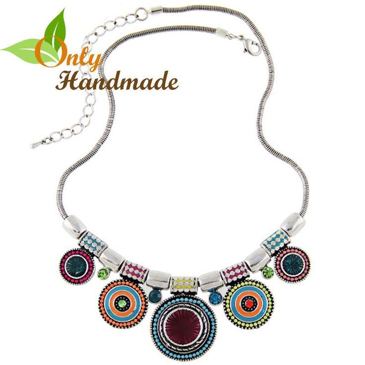 Gypsy Choker Multi Gems Necklace