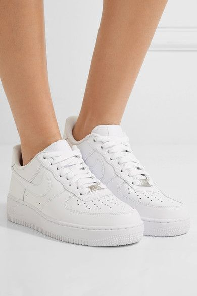 Nike - Air Force I Leather Sneakers - White - US