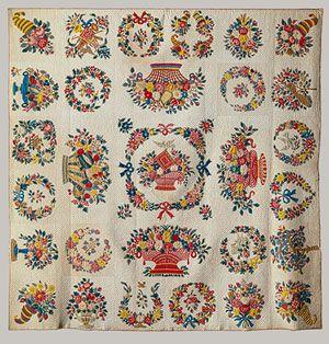 Presentation quilt [Baltimore, Maryland] (1974.24) | Heilbrunn Timeline of Art History | The Metropolitan Museum of Art