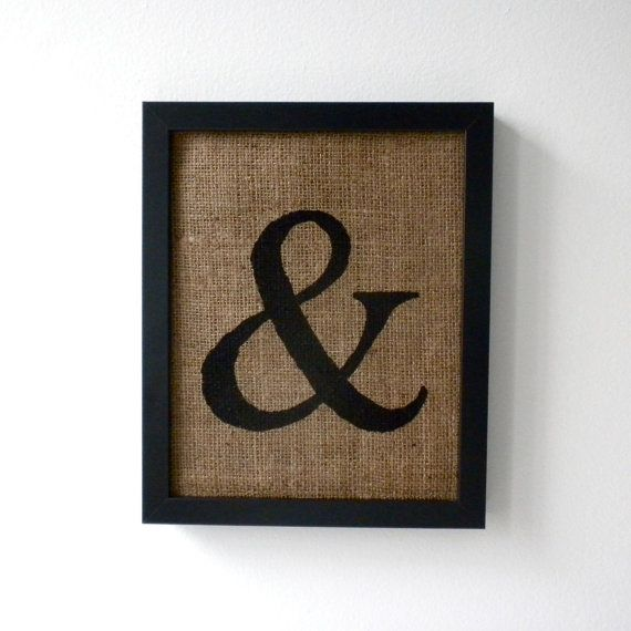 Best Wall Decor On Etsy : Best images about ampersand love on wall