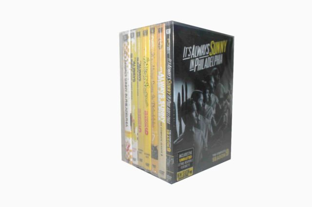 It's Always Sunny in Philadelphia TV Series Complete Seasons 1-11 Bundle DVD Set