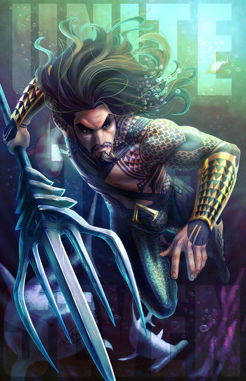 Aquaman by Royce Southerland #UniteTheSeven #SkratchJams #DeviantArt