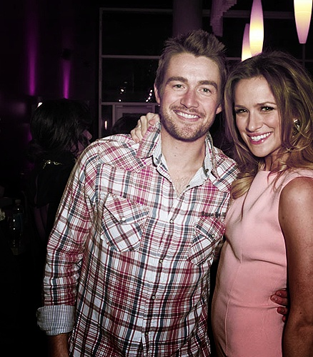 Clay Evans and Quinn James. Clinn. One Tree Hill. Robert Buckley. Shantel VanSanten. OTH. Robtel.