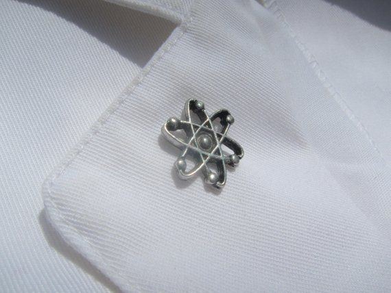 Occupational Therapist OT Lapel Pin with Diamond in Silver NursingPin