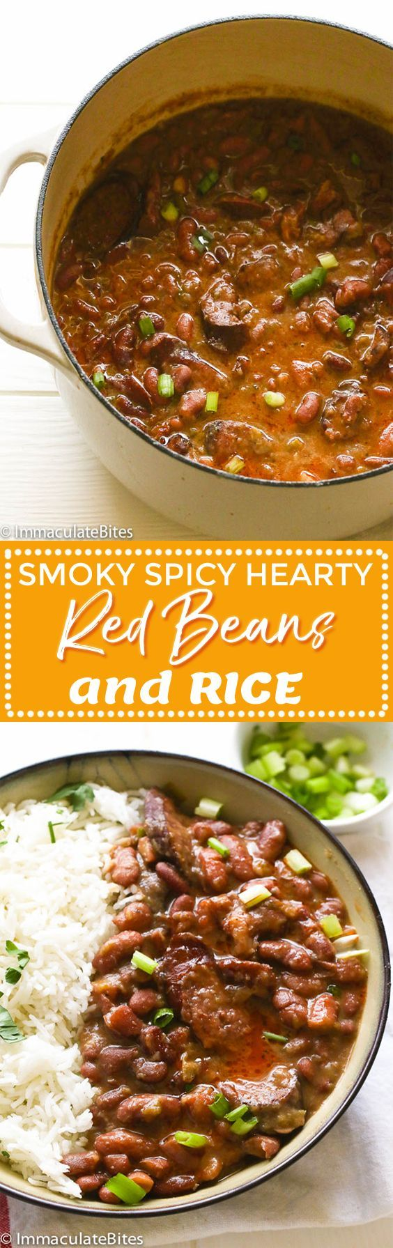 southern red beans and rice #dinner #beans #southern #food #recipe