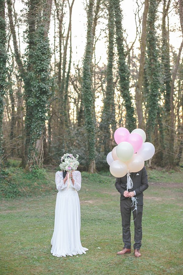A 1970s Bohemian Inspired Bride And Her Whimsical Woodland Wedding