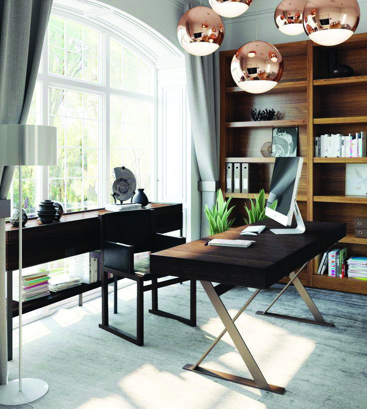How To Decorate A Home Office Lighting Solutions Only In Shopyhomes Com Industrial Home Design Home Office Design Modern House Design
