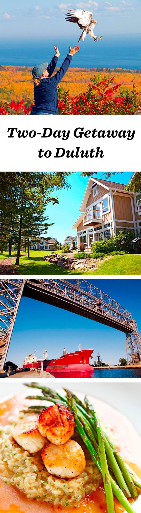 The gateway to the 154-mile-long North Shore Scenic Byway, Duluth stands out with its Canal Park neighborhood, miles of lakeside trails and quality dining: http://www.midwestliving.com/travel/minnesota/duluth/two-day-getaway-to-duluth/ #duluth #minnesota #northshore