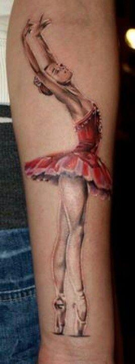 Tatuagens sobre balé para as bailarinas se inspirarem | Tinta na Pele
