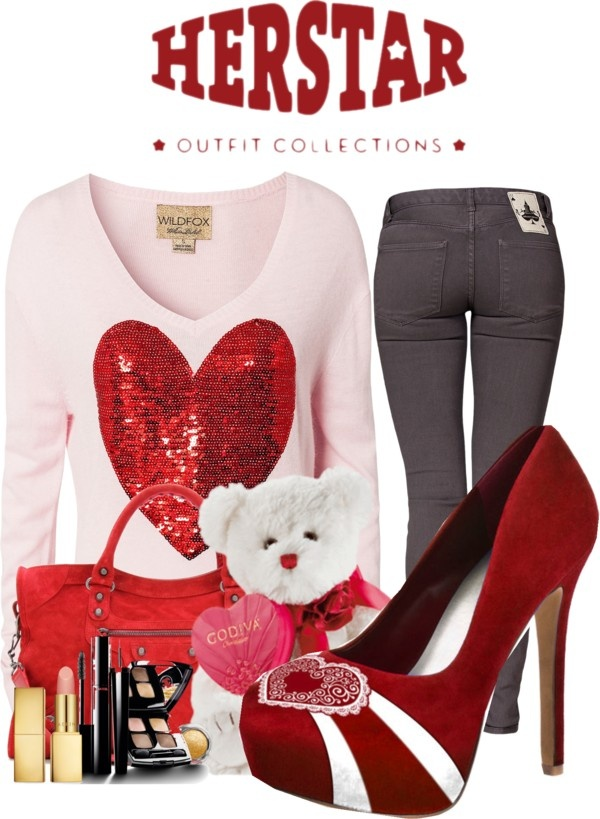 Top 20 Amazing Outfits Ideas For Valentine's Day 2018   Best Valentine Outfit
