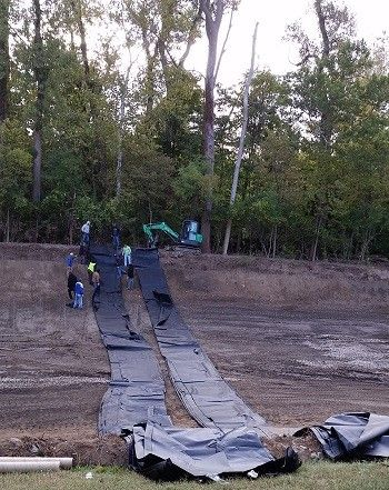Pond liner-Containment liner-Geomembrane liner Manufacturer since 1985