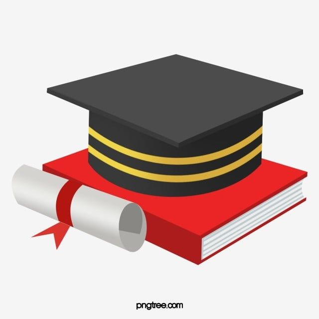 Cartoon Hand Drawn Gradient Graduation Cap Illustration Graduation Cap Clipart Graduation Cap Certificate Of Merit Png Transparent Clipart Image And Psd File How To Draw Hands Graduation Cap Clipart Graduation Cap