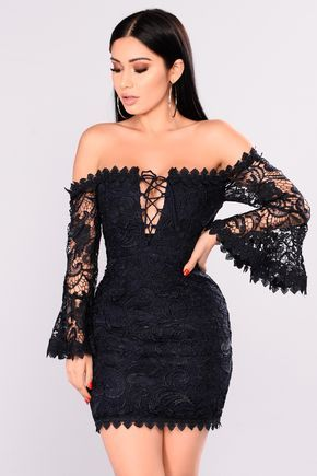 68ecbcf83a6 Available In White and Navy Lace Crochet Dress Off The Shoulder Lace Up Bell  Sleeve 100% Polyester