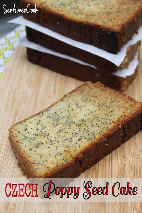 Czech Poppy Seed Cake in honor of West, TX #BakeForWest