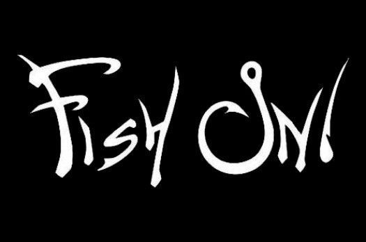 """""""FISH ON HOOK"""" VINYL ART DECALS STICKERS- CAR TRUCK BOAT 4""""-23"""" IN SIZES #CUSTOM"""