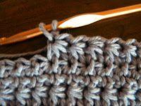 Daisy Crochet Stitch instructions. I've also seen this called Stern Stitch and Sunburst Stitch. Lots of Crochet Stitches by M. J. Joachim: Daisy Crochet Stitch