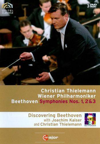 Christian Thielemann/Wiener Philharmoniker: Beethoven - Symphonies Nos. 1, 2 & 3 [DVD] [2008]