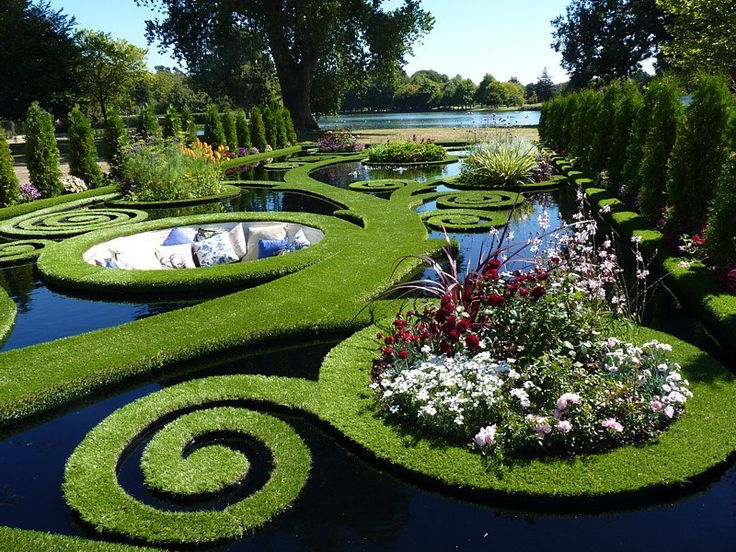 Wow a floating garden fantasy at the ellerslie for Landscape design christchurch nz