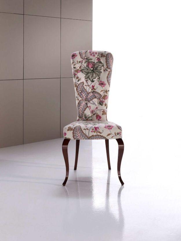 Silla cl sica rita en mbar muebles for Sillas antiguas tapizadas modernas