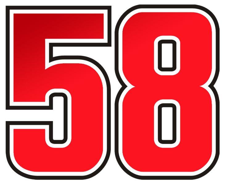 number 58-images | MS 58 Logo Set | Project 85 | MotoGP Photography