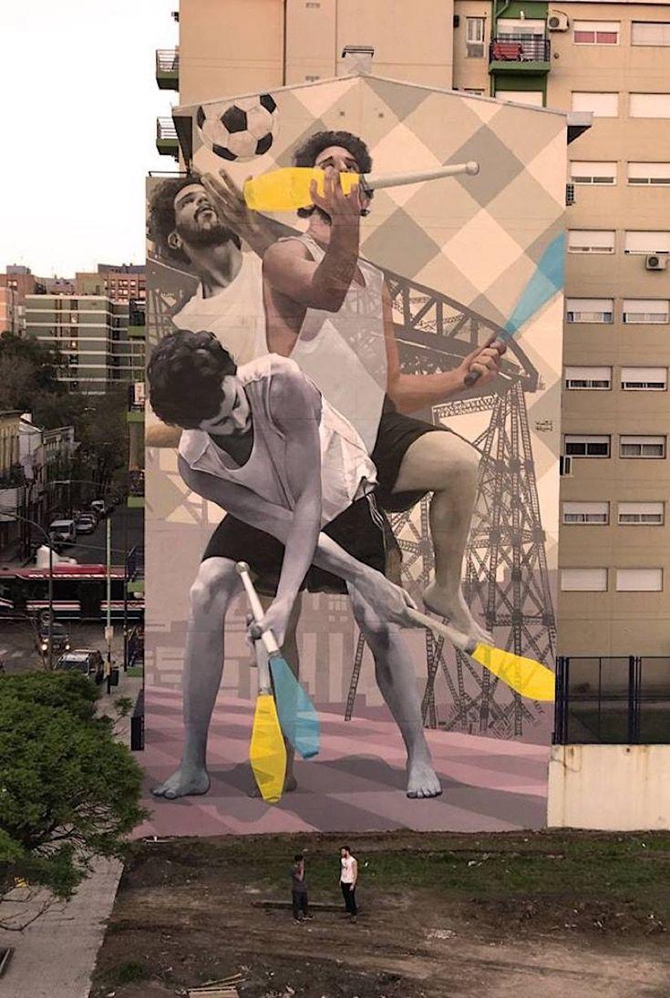 Exceptional Jonglieren Mit Farbe: Martín Ron Illustriert Wand In Buenos Aires Der  Argentinier Martín Ron Zählt Zu Den Bedeutendsten Street Artists Der Welt.