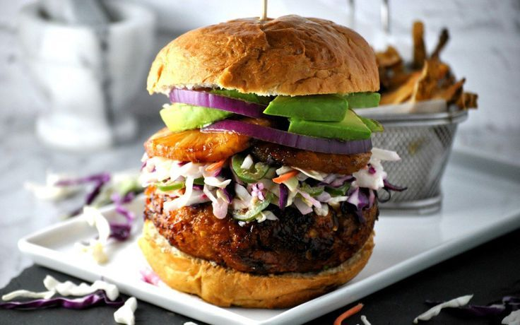 <p>If you're looking for a burger concept that's going to sweep people right off their feet, this Hawaiian teriyaki chickpea burger is everything you need!</p>