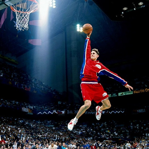 Brent Barry Los Angeles Clippers NBA Slam Dunk Contest