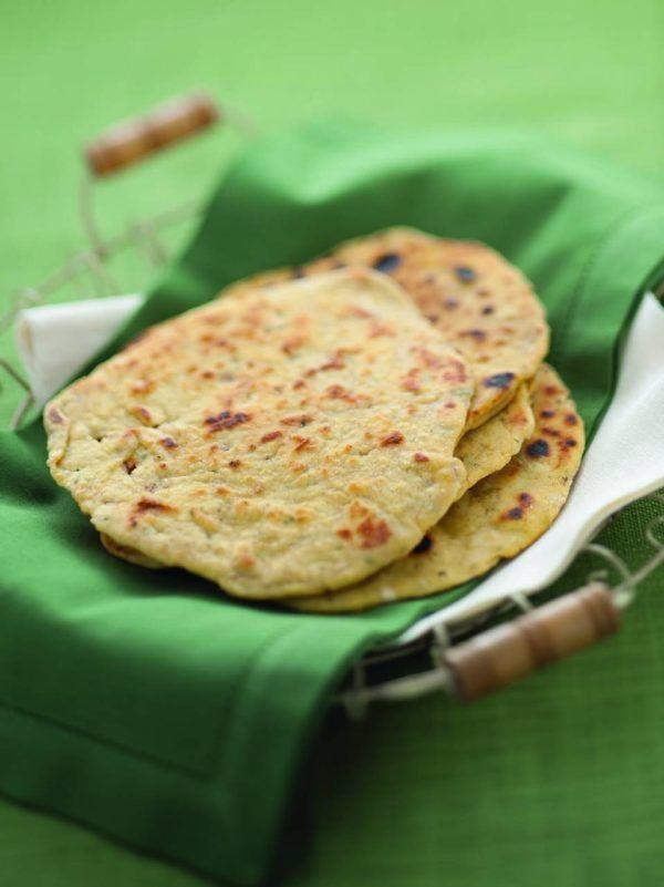 Pane indiano di ceci - Cucina Naturale