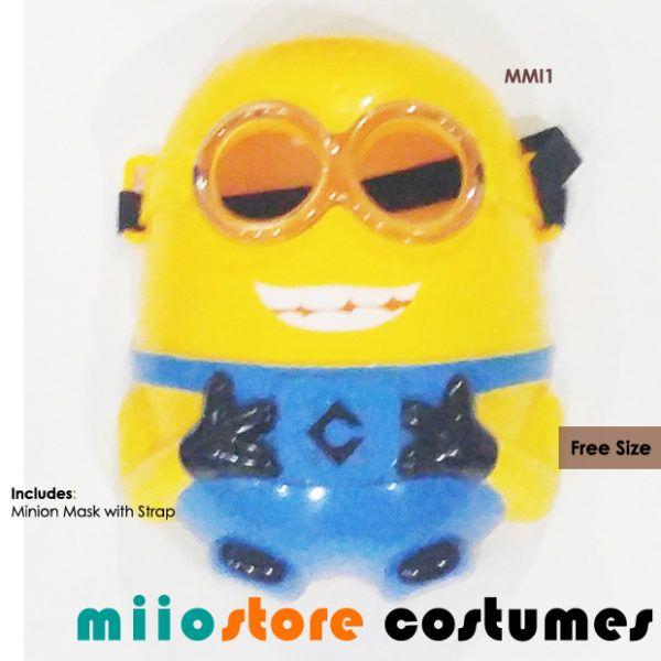 Minion Mask Accessories - miiostore Costumes Singapore MMI1
