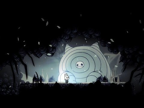 Hollow Knight - 2D platformer with desaturated color palettes